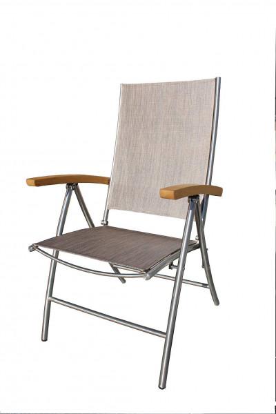 Sessel Salerno Textilen / Robinie 6fach