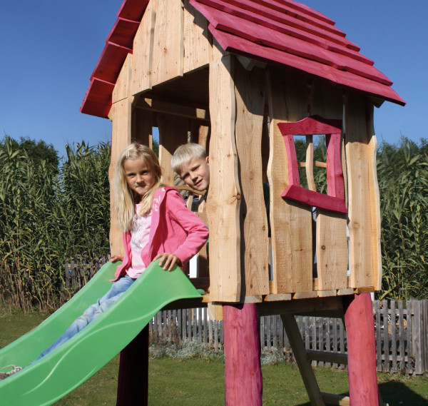 "Spielturm ""Fanny"" Lärche/Robinie 90/90cm"