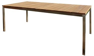 Tisch Venezia I 160/85 cm Robinien Holz