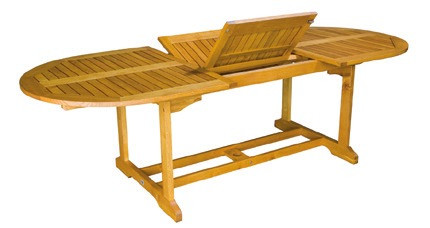 Tisch Torino I 150/200 cm Robinienholz