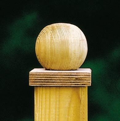 Kugel 7 cm mit Platte